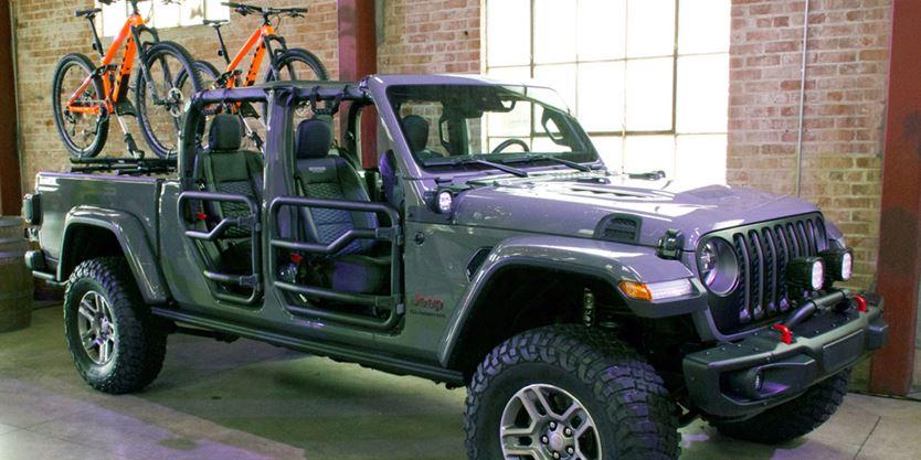 First Drive Jeep Gladiator Pickup 2020 Toronto Com