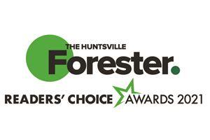 Huntsville Forester Readers' Choice Awards 2021