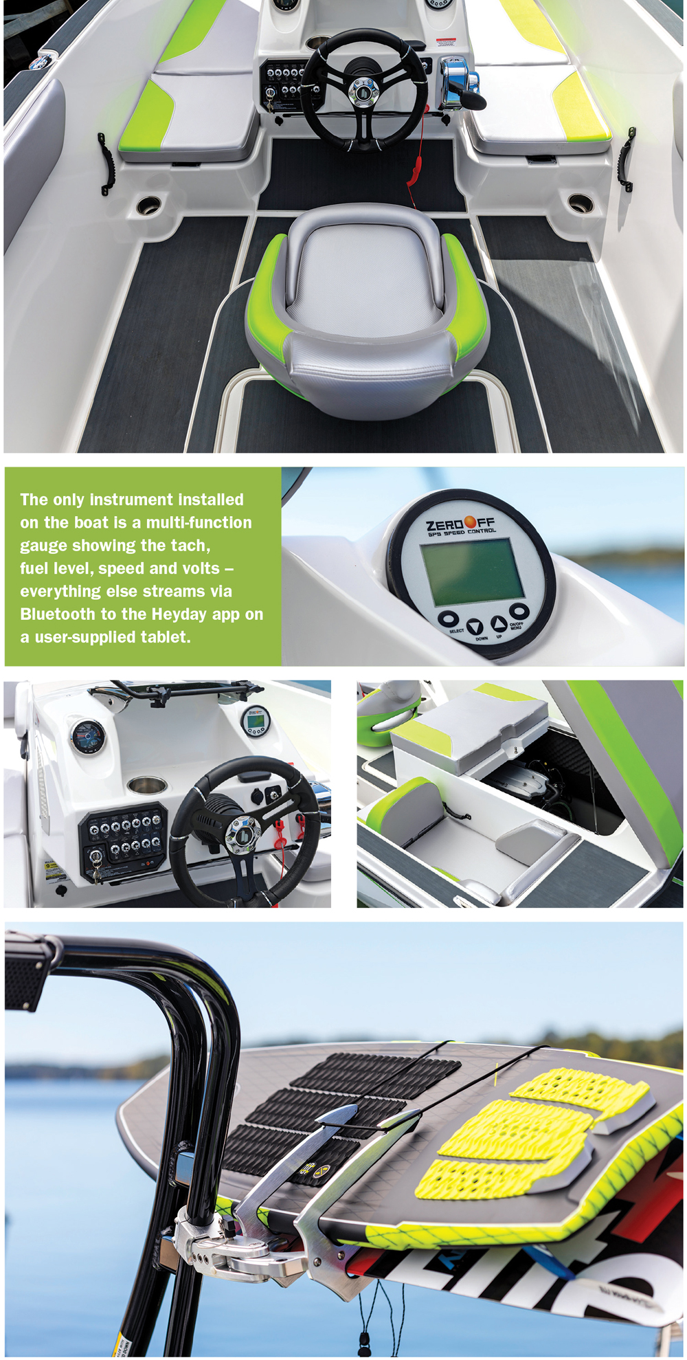 BOAT REVIEW: Heyday WT-1 SURF Wakeboarding and Wakesurfing