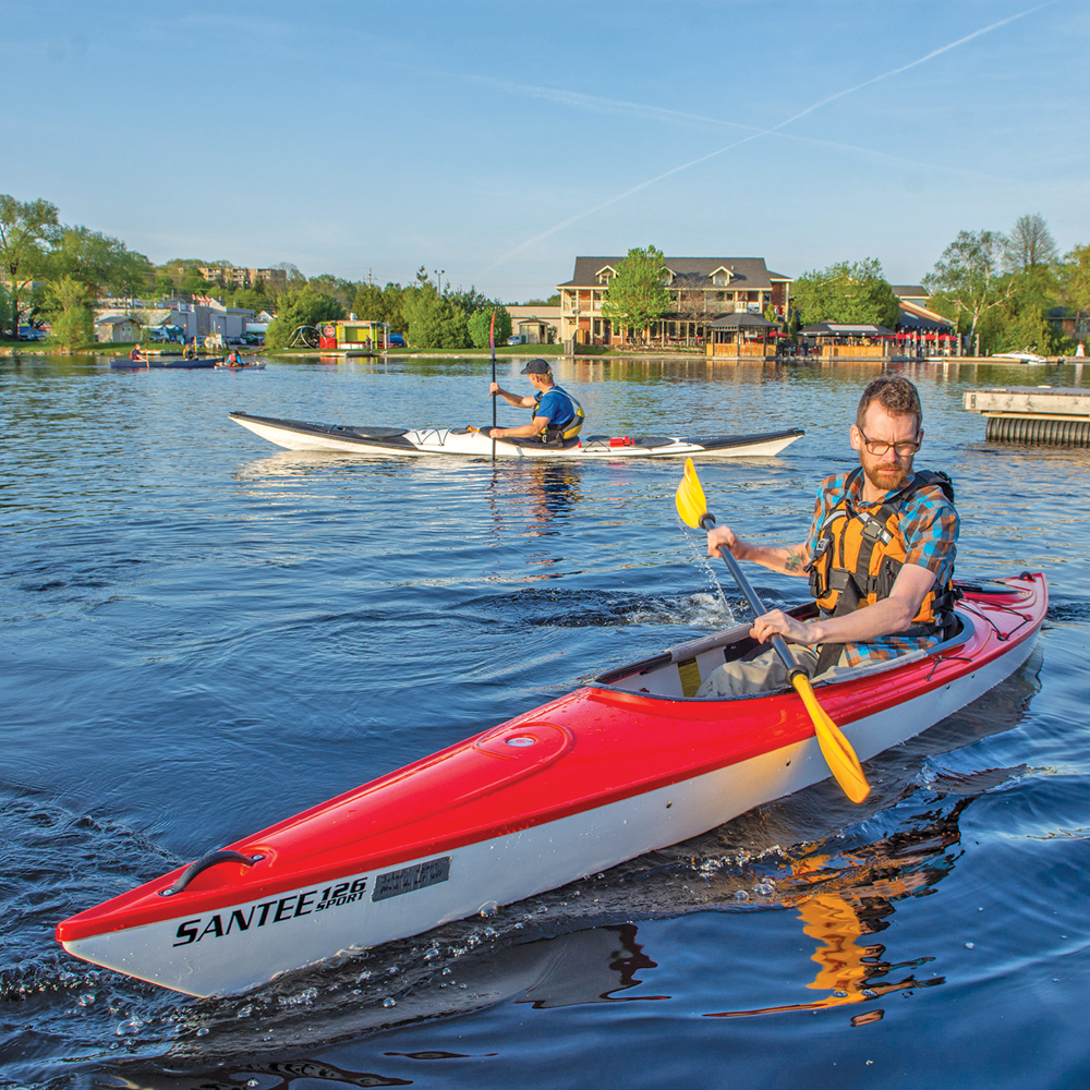 Discover kayaking — the simple act of paddling a kayak is