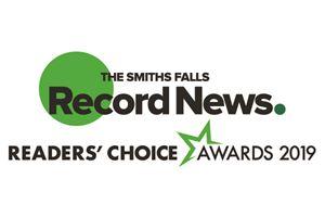 Smiths Falls Record News Readers' Choice Awards 2019