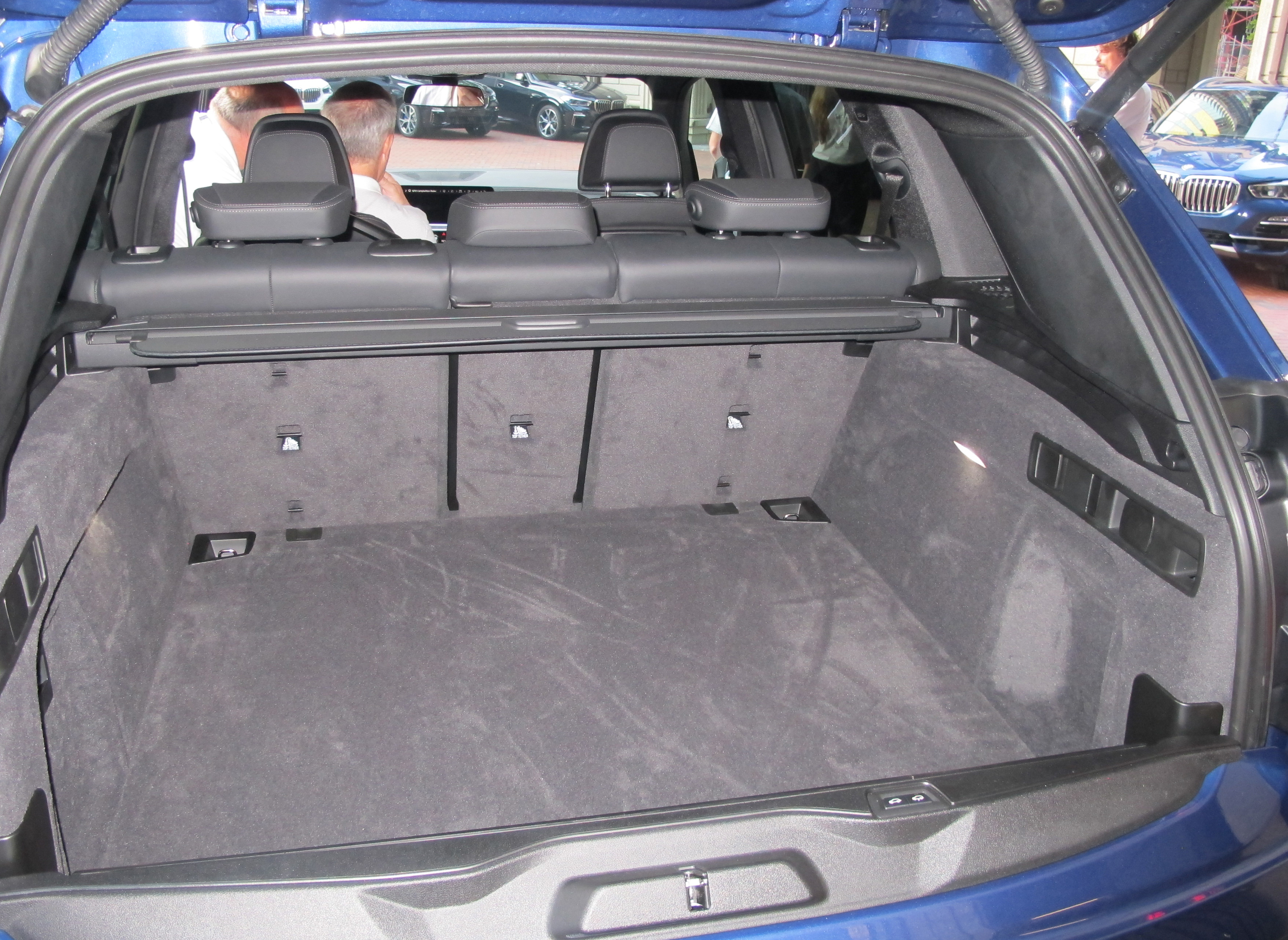 Bmw X5 Cargo Space Behind Second Row How Much Cargo Space