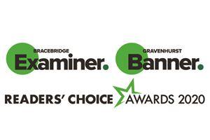 Bracebridge Examiner and Gravenhurst Banner Readers' Choice Awards 2020